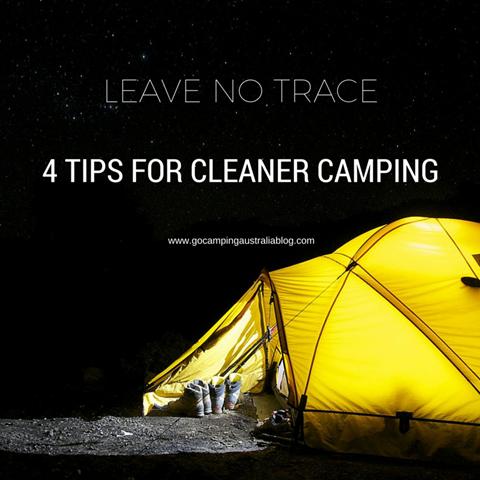 clean campsite tips