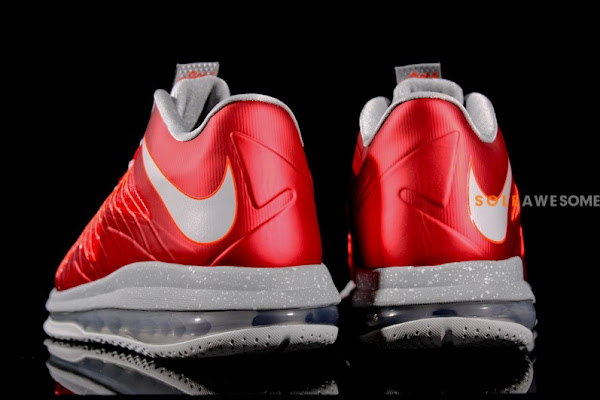 First Look at Nike Air Max LeBron X Low 8220Ohio State8221