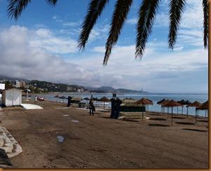 malaga, beach N