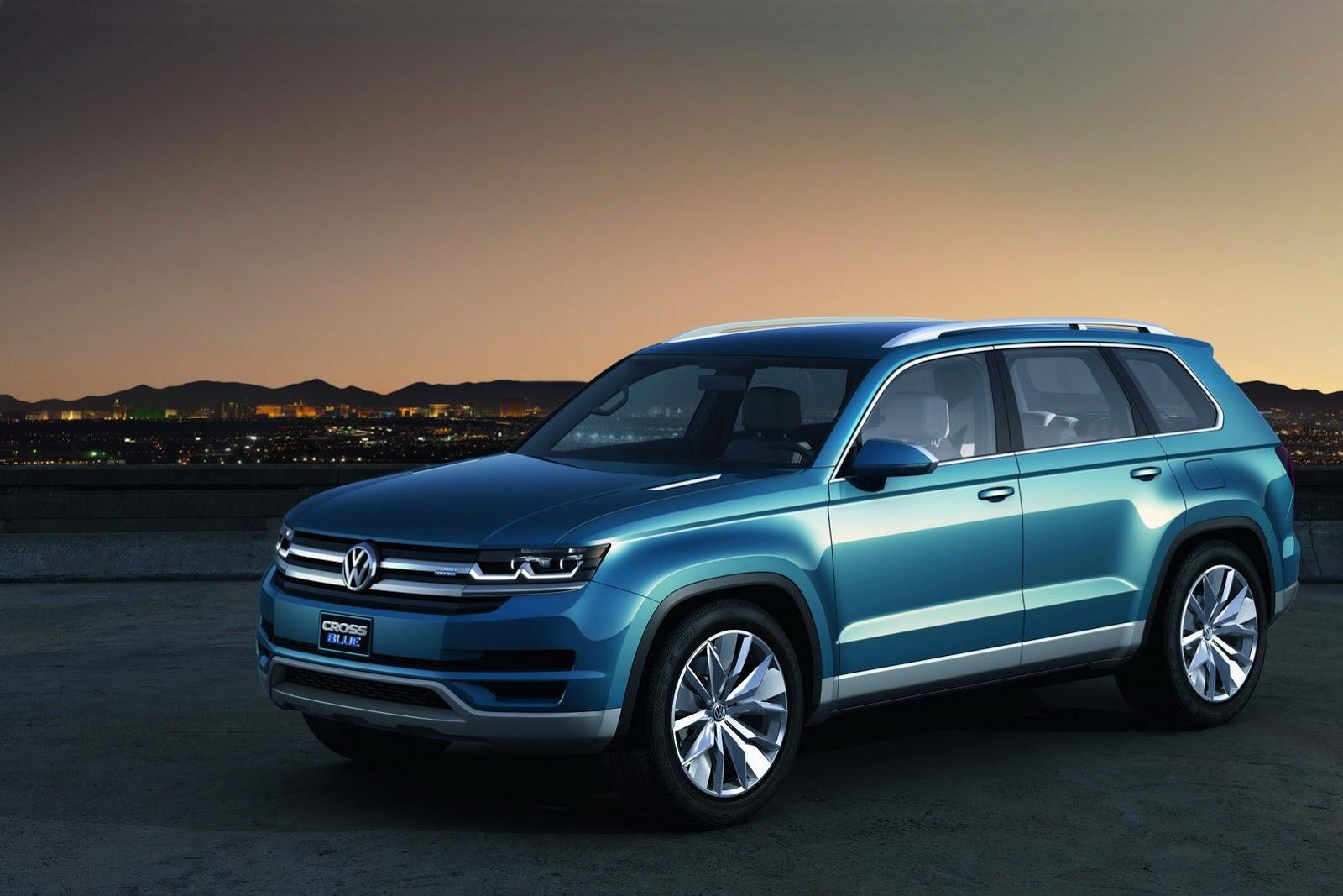 Volkswagen CrossBlue Concept 2013 Presentazioni e Novità