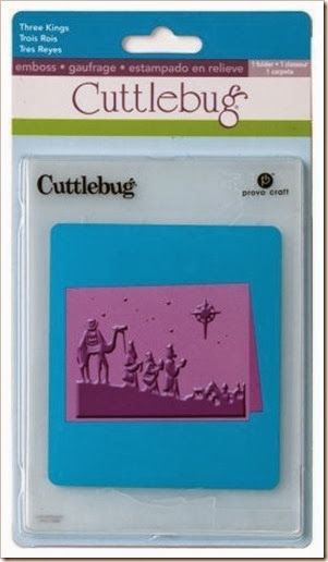Cuttlebug Three Kings Folder