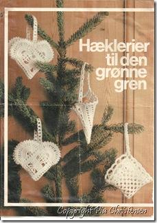 Hæklede julehjerter