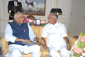 With Senior BJP Leader Sri Yashwant Sinha