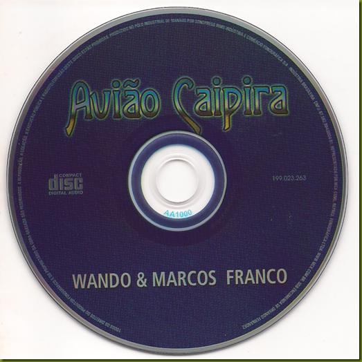 Wando e Marcos Franco CD