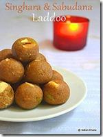 Singhara Sabudana Ladoo