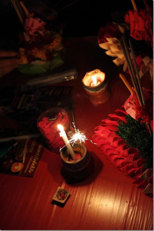 Symbolizing Loi Krathong Festival of Thailand