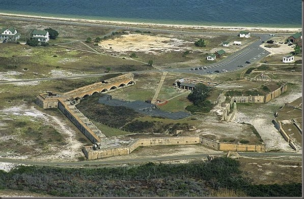 ft pickens aerial