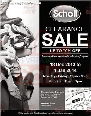 Scholl Clearance Sale 2013 2014 Jualan Gudang Jimat Deals EverydayOnSales Offers