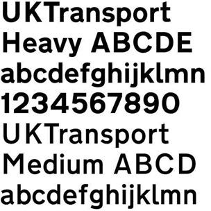 uktransport font