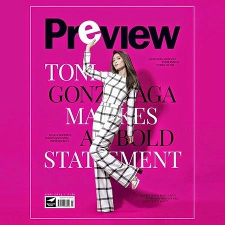 Toni Gonzaga - Preview April 2015