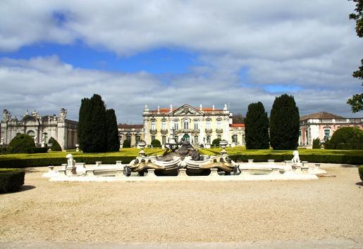 Palácio de Queluz - jardim pênsil