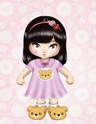 jolie-japonesa-pijama