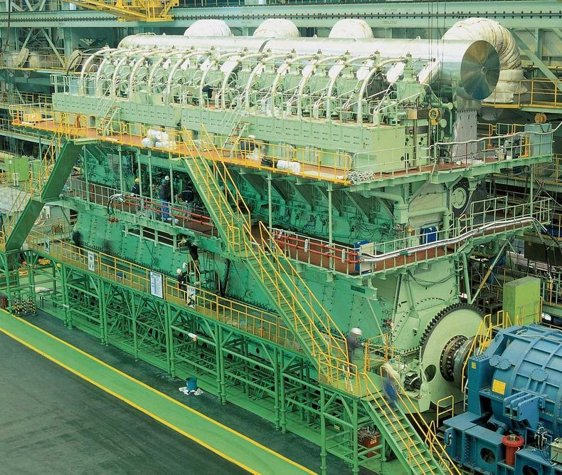 italy builds the biggest diesel engines in the world they