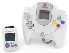 Controle americano do Dreamcast com VMU - A História dos Vídeo Games - Nintendo Blast