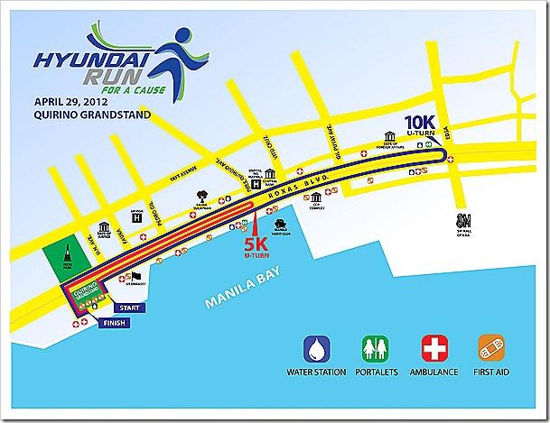 Hyundai Run Map