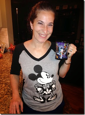 Mickey Halloween Shirt and Mug