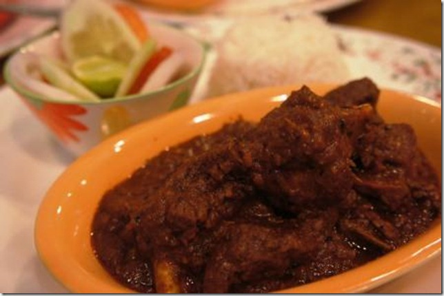 Anglo Indian mutton vindaloo