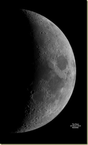 25 March 2015 Moon