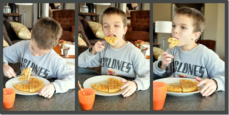 Waffle Eater