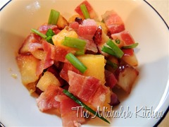 Bacon Butternut Squash Apple Hash