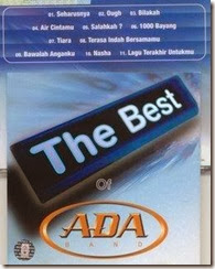 ADA BAND _ The Best Of (2003)