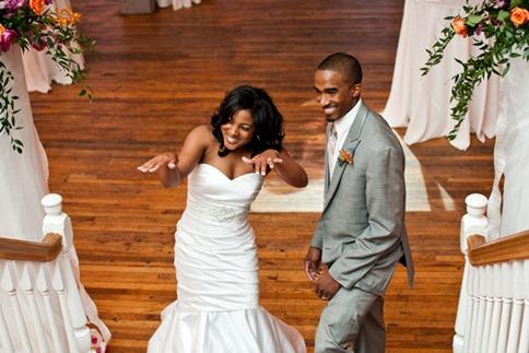 Casamento Moderno - Laranja e Pink (16)