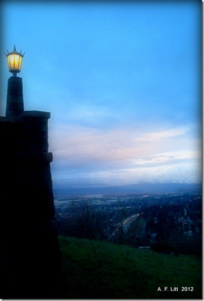 Rocky Butte. Photo of the Day, February 16, 2012.  Portland, Oregon.  Circa January 2008.