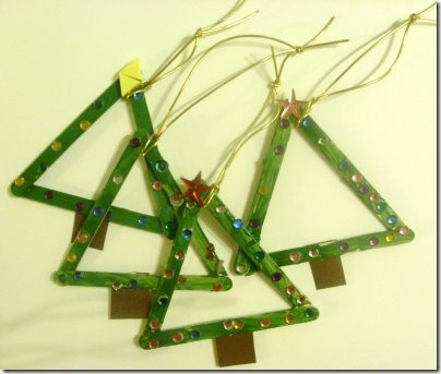 chritmas craft trees
