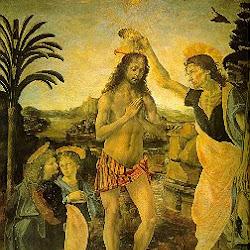 69 - Verrochios - El bautismo de Cristo