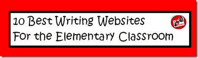 10 best writing websites for the elementary classroom