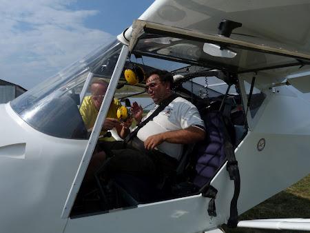 Aventura Card, avion usor: gata de decolare