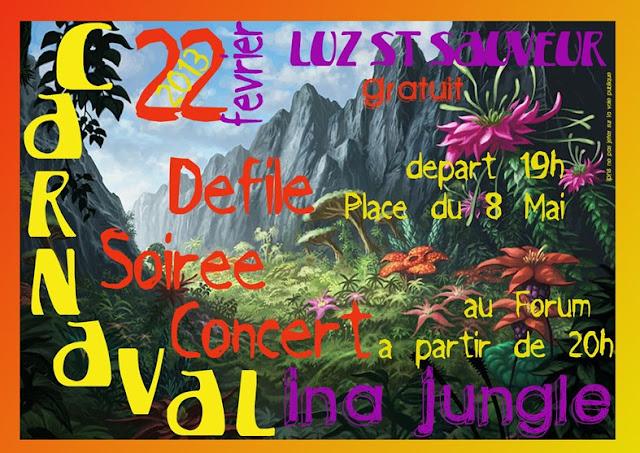 Luz st sauveur carnaval 2013