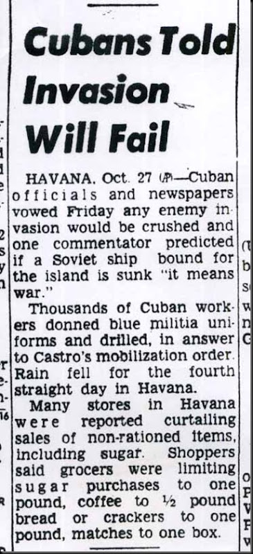Cubans Told