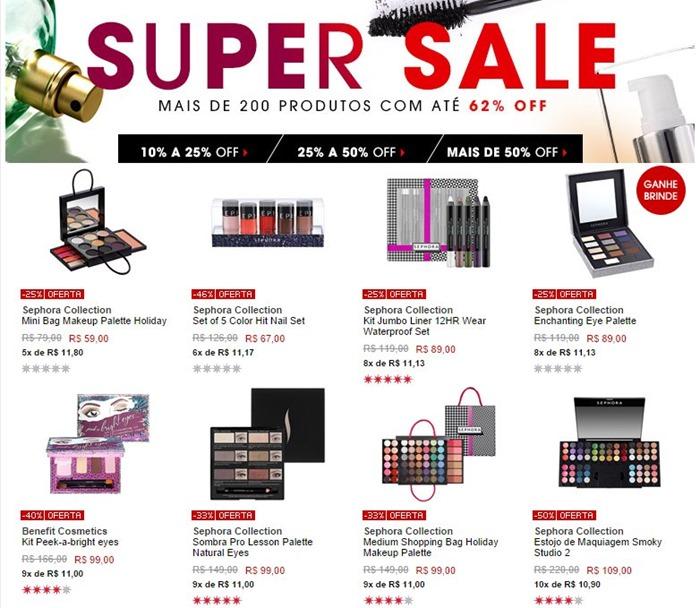 sephora super sale 17-18set2014