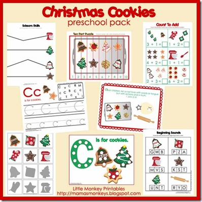 christmas cookies ad