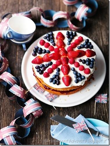 Union Jack Cake Decorations