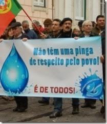 As manigâncias das concessões das àguas a privados. Fev.2014