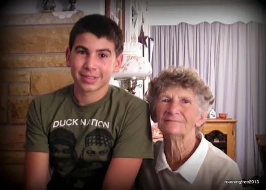 Bryce and Grandma