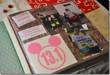 Running Race Scrapbooks 5
