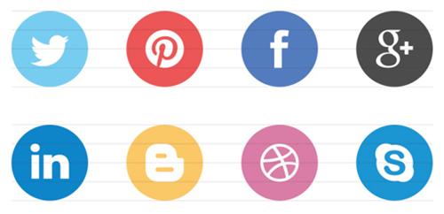 minimalist flat icons