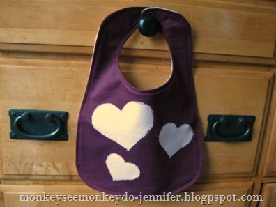 valentine's day heart bib (5)