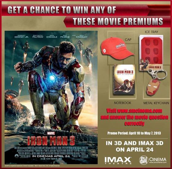 iron man 3_online promo
