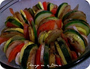 before veggie roast