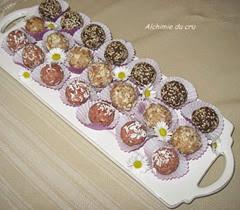 truffes 3 couleurs