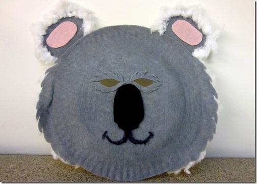 macara koala con plato de papel (1)