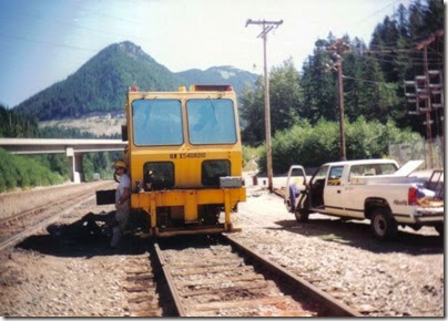 Maintenance-of-Way Equipment at Scenic in 1994