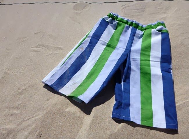 virtù - stripey beach pants for E