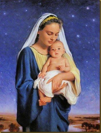 MARIA VIRGEN CON JESUS