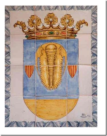 Escudo Murero azulejos