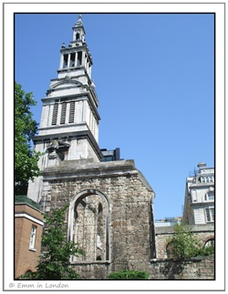 Christ Church Greyfriars (as seen from the south)